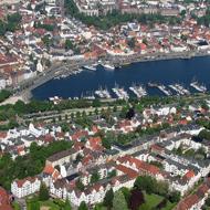 Flensburg von oben